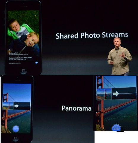 Размещение фото в iPhone 5