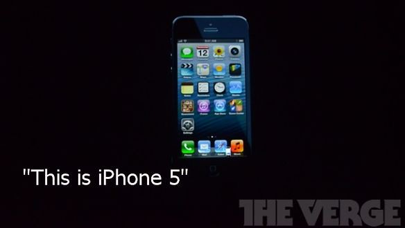 Это iPhone 5
