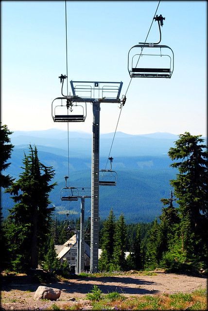 Chairlift at the Timberline