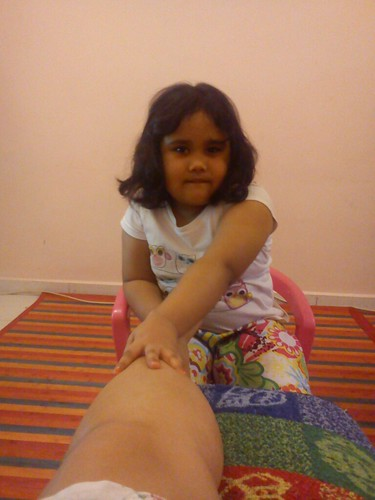 Foot Massege by Ammyzyliyana