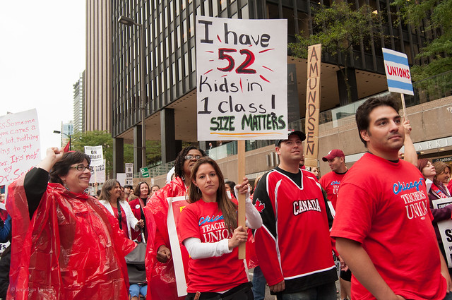 Chicago Teachers March