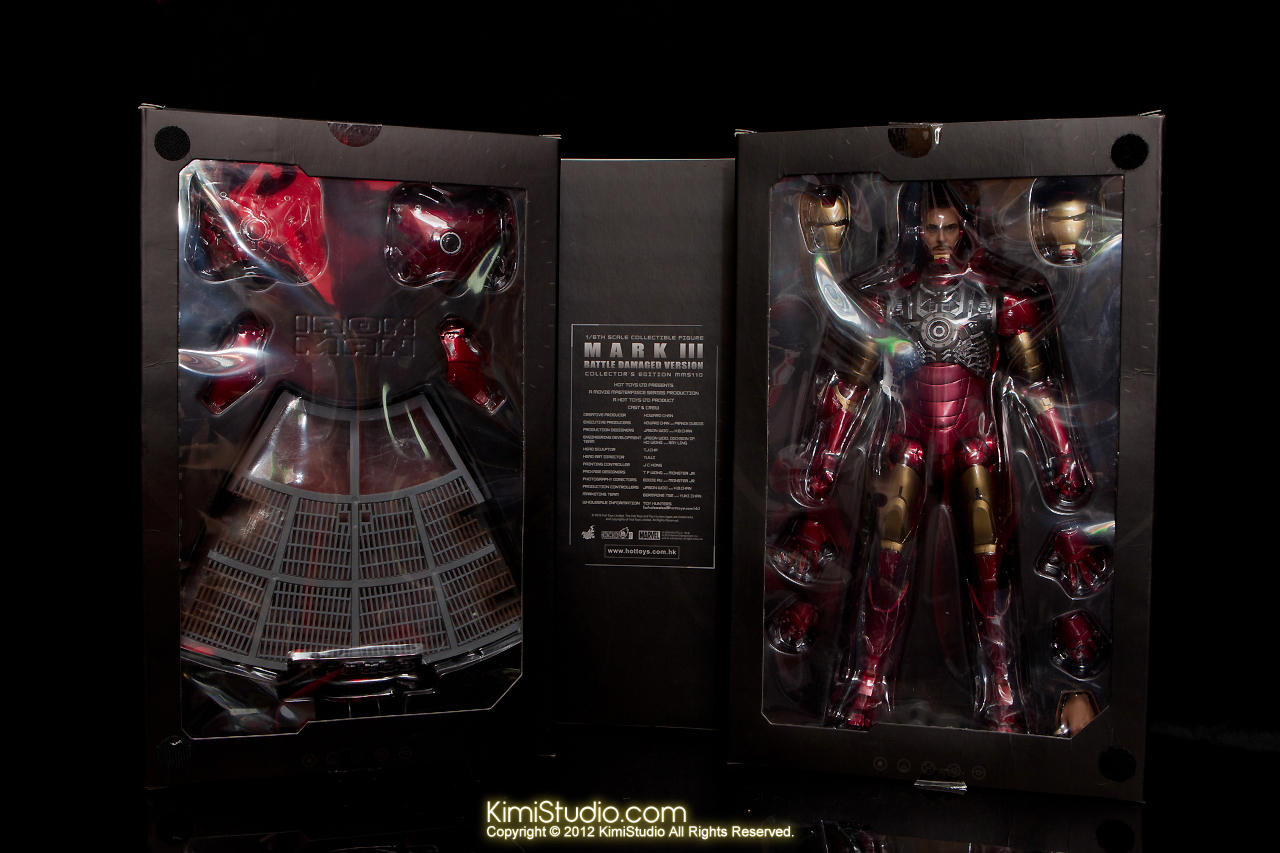 2012.09.13 MMS110 Hot Toys Iron Man Mark III 戰損-003
