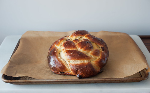 chocolate chunk and sea salt challah