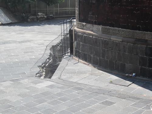Mexique fissure de sol