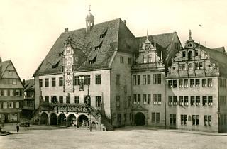 Heilbronn - Rathaus 1927 (Postcard)
