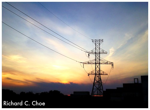 Sunset & Power Lines 5 (9.16, '12) by rchoephoto