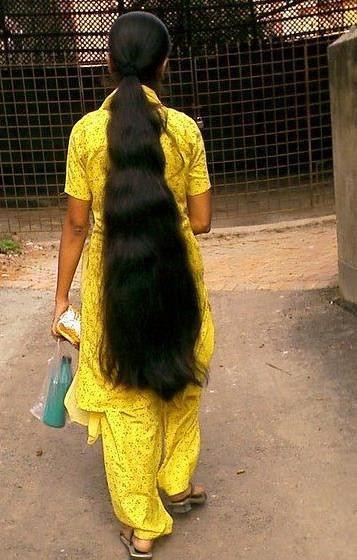 Indian Longhair Ponytails A Gallery On Flickr