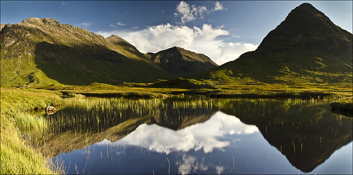 Reflection pool, Glencoe, Scotland