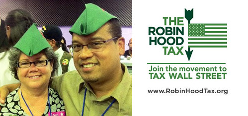 MN Rep Keith Ellison introduces Robin Hood Tax