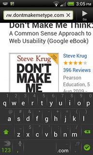 Don't make me type