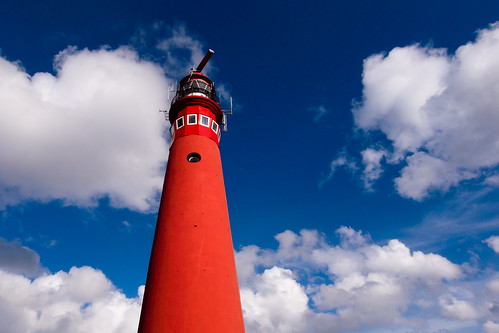 lighthouse in the sky