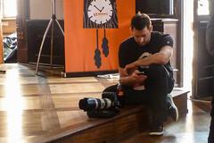 Der Fotograf macht Pause   photographer at work