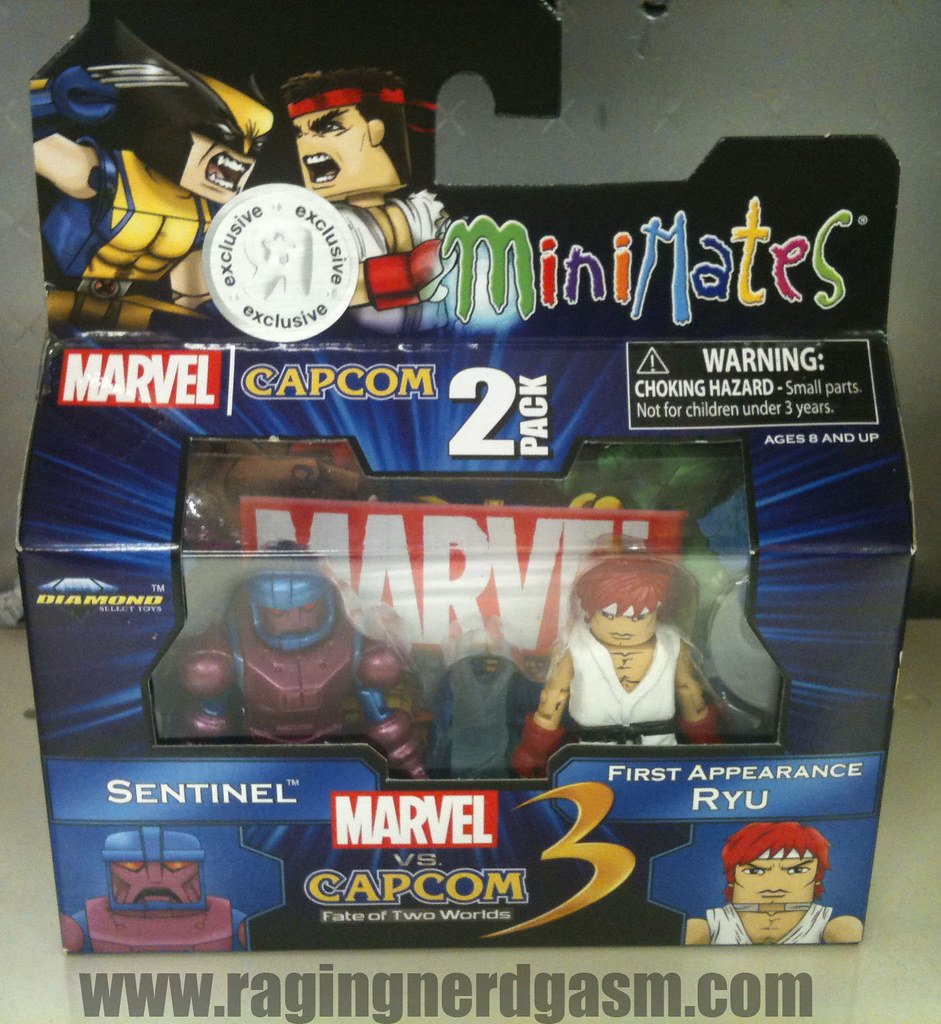 Minimates Marvel vs Capcom 3 007