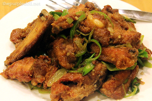 Salt & Pepper Spareribs P380