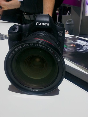 The new Canon EOS 6D @ Photokina 2012