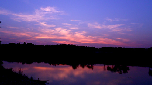 sunset reflection marina river landscape liberty view tennessee horizon tones clarksville