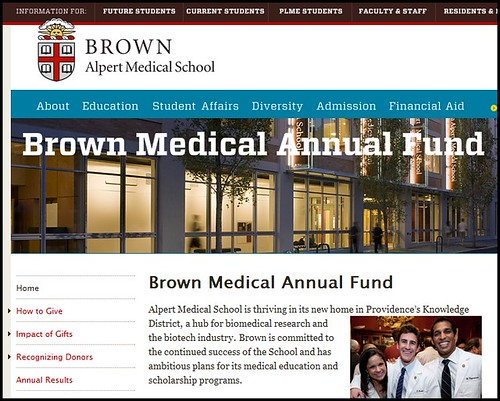 Joel Schlessinger MD donates to his alma mater, Brown University