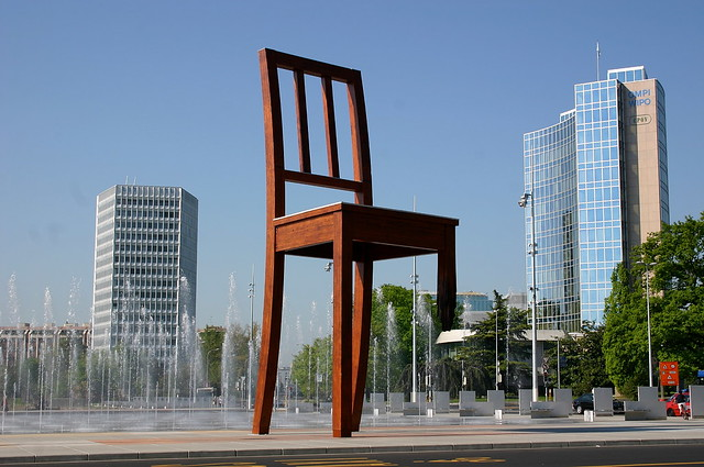 broken chair by daniel berset geneva flickr photo sharing. Black Bedroom Furniture Sets. Home Design Ideas
