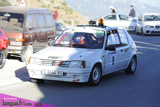 """Paco Melero, Rallye sierra de cadiz 2012"""