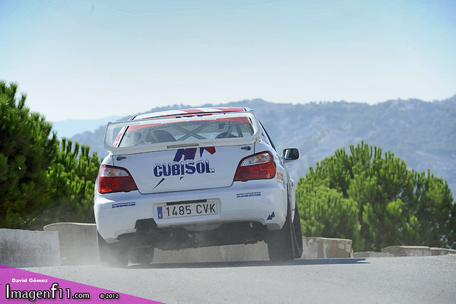 """juan Angel ruiz, subaru, rallye sierra de cadiz 2012"""