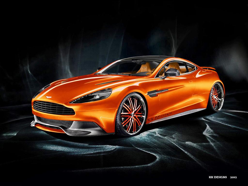 Aston Martin AM 310 Vanquish 2013 KK DESIGNSAston Martin Concept Red