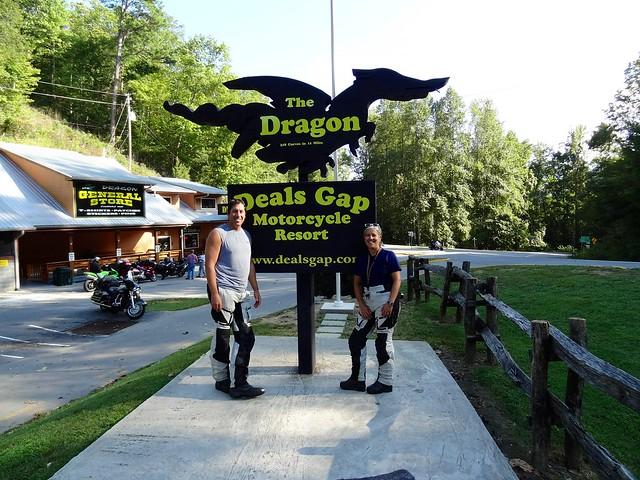 Sara and Dan dragon sign