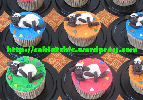 Cupcake Shaun the Sheep