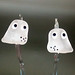 Earring Pair : Little Ghost