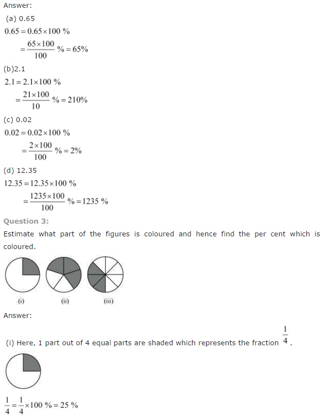 NCERT Solutions for Class 7 Maths Chapter 8 Comparing Quantities Exercise 8.2