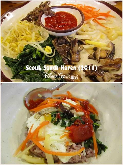 South Korea Foods 03 - Bibimbap in Nami Island