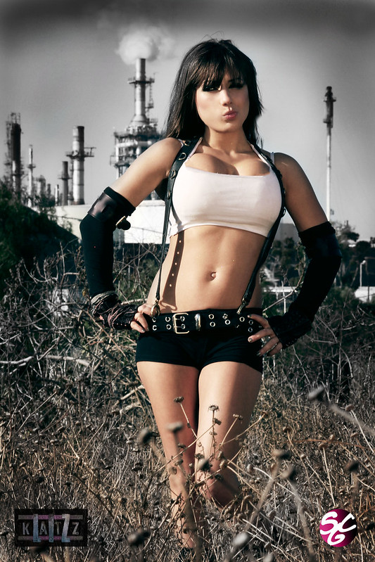Liz Katz as Tifa Lockhart