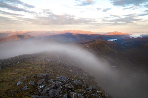 Beinn Dearg - with views over Ullapool and Assynt #2 by svensl