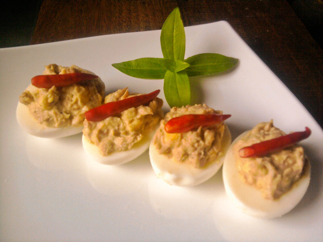 Tuna Deviled Eggs | Flickr - Photo Sharing!