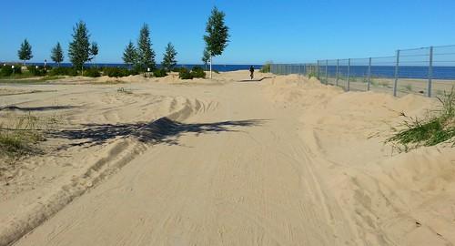 summer holiday bike suomi finland landscape geotagged sand ferie kalajoki kalajoen topcamping