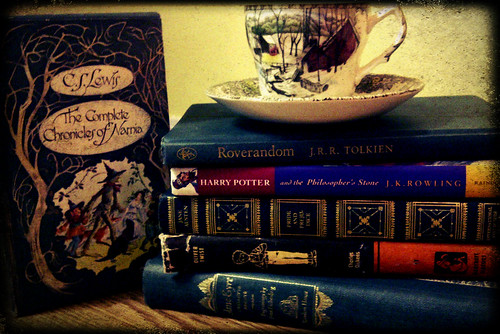 Books & Tea Cup #3
