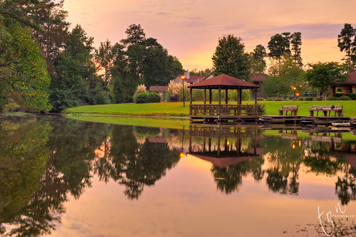 sunset reflection sc landscape colorful columbia hdr tonten cz50 windsorshores