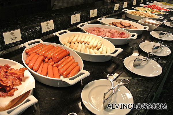 Sausages and other western food