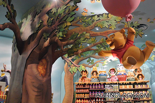 Winnie the Pooh gift shop