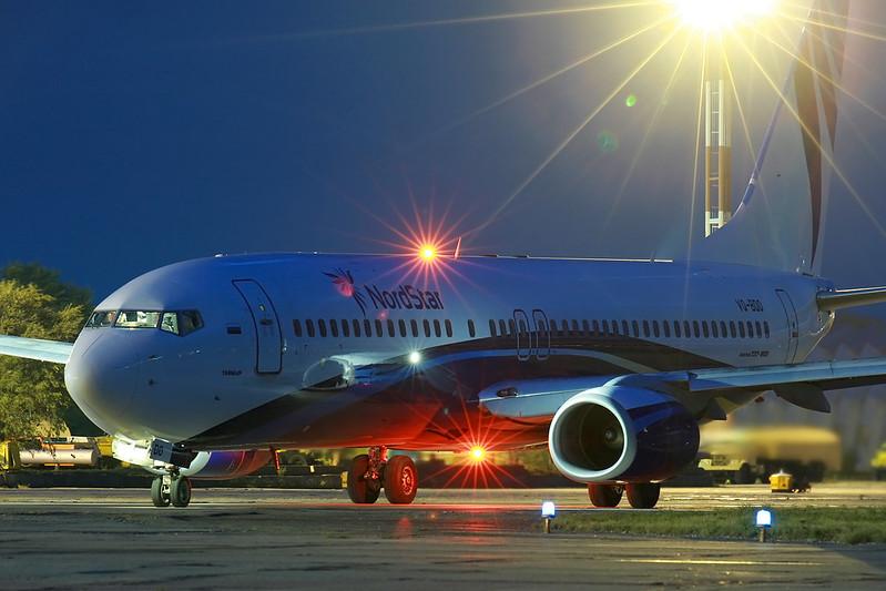 Boeing 737 Nordstar in MRV