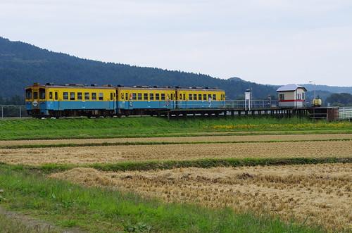 由利高原鉄道 YR1500形3両サヨナラ運転 #04