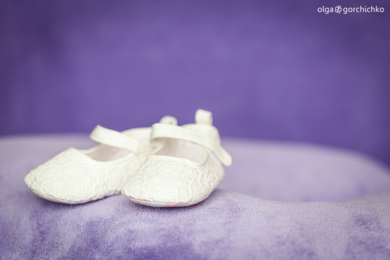 Фотосессия новорожденной Наташеньки