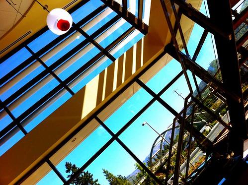 light architecture shadows lobby iphone