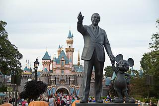 Central Plaza- Disneyland, California