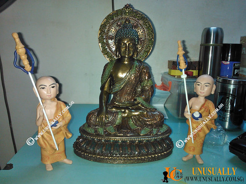 Custom 3D Buddhism Figurines Fully Personalized 3D AES Fighter Figurine - © www.unusually.com.sg