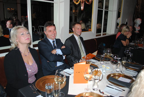 Monthly Dinner with Mr Christopher Pincher, MP, 25 September 2012