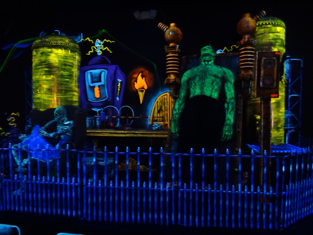 Monster Minigolf Frankenstein Monster