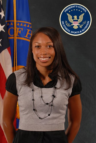 Allyson Felix, U.S. Track and Field Olympian & Member of the President's Council on Fitness, Sports & Nutrition