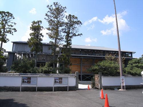 正倉院正倉整備工事現場公開(第2回)-03