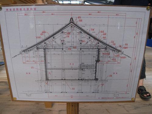 正倉院正倉整備工事現場公開(第2回)-24
