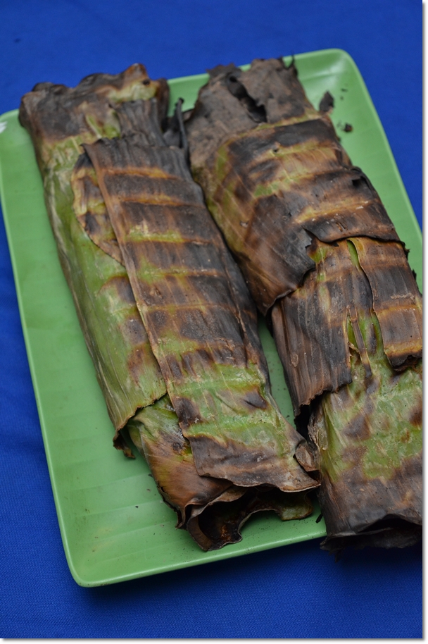Banana Leaf Wrapped Grilled Fish